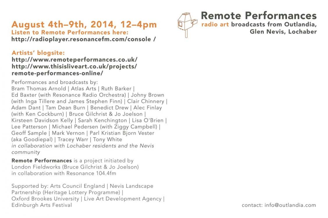 Remote Performances 02